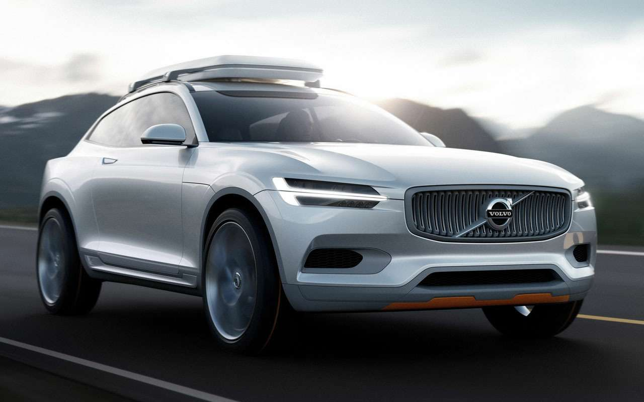 Volvo сделает дорогое кросс-купе XC100— фото 1122303