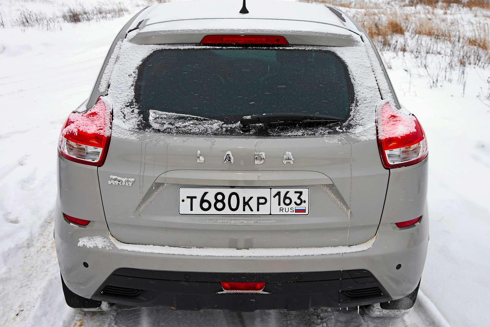 Большой зимний тест: Lada Vesta, Lada XRAY иDatsun mi-DO изпарка ЗР— фото 571434