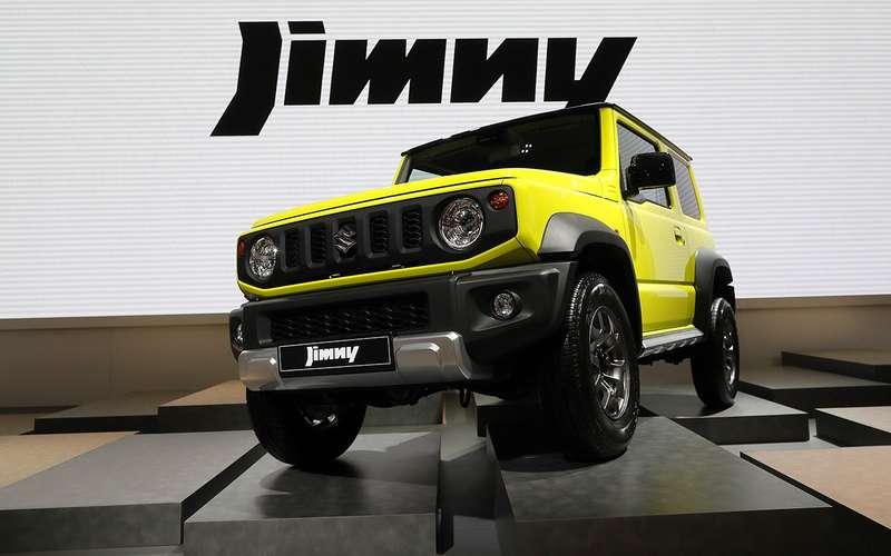 Стало известно, когда Suzuki Jimny привезут вРоссию