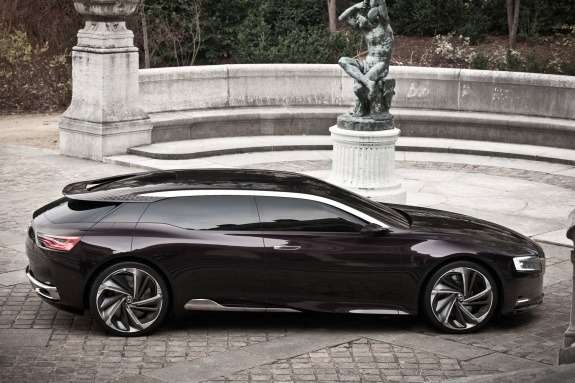 Citroen Numero 9 Concept side view