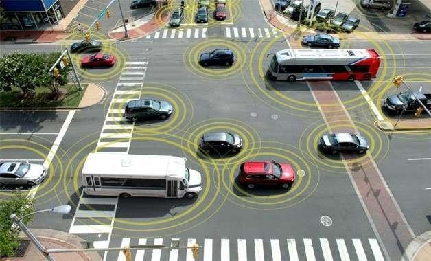 Автопроизводителей обяжут использовать технологии беспроводной связи между автомобилями