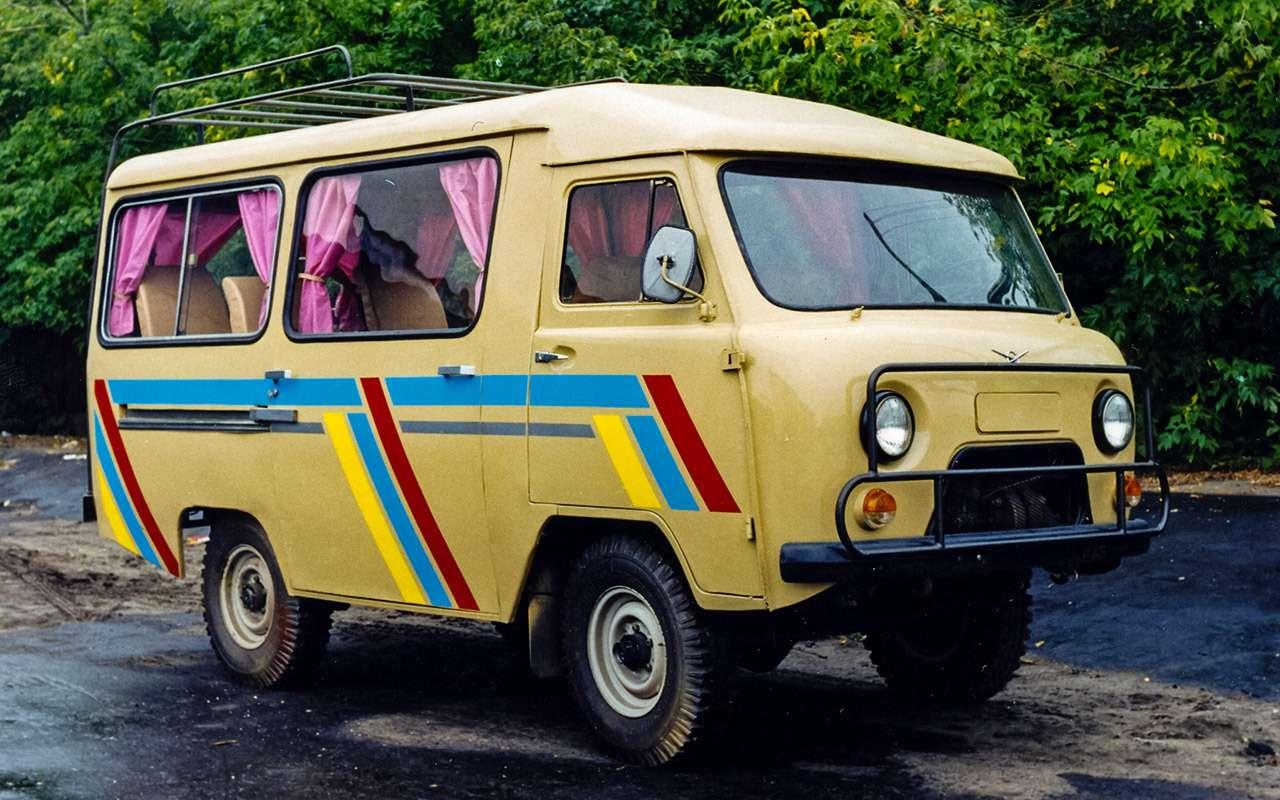 Гибрид УАЗа сГАЗом идругие малоизвестные серийные автомобили СССР— фото 933350