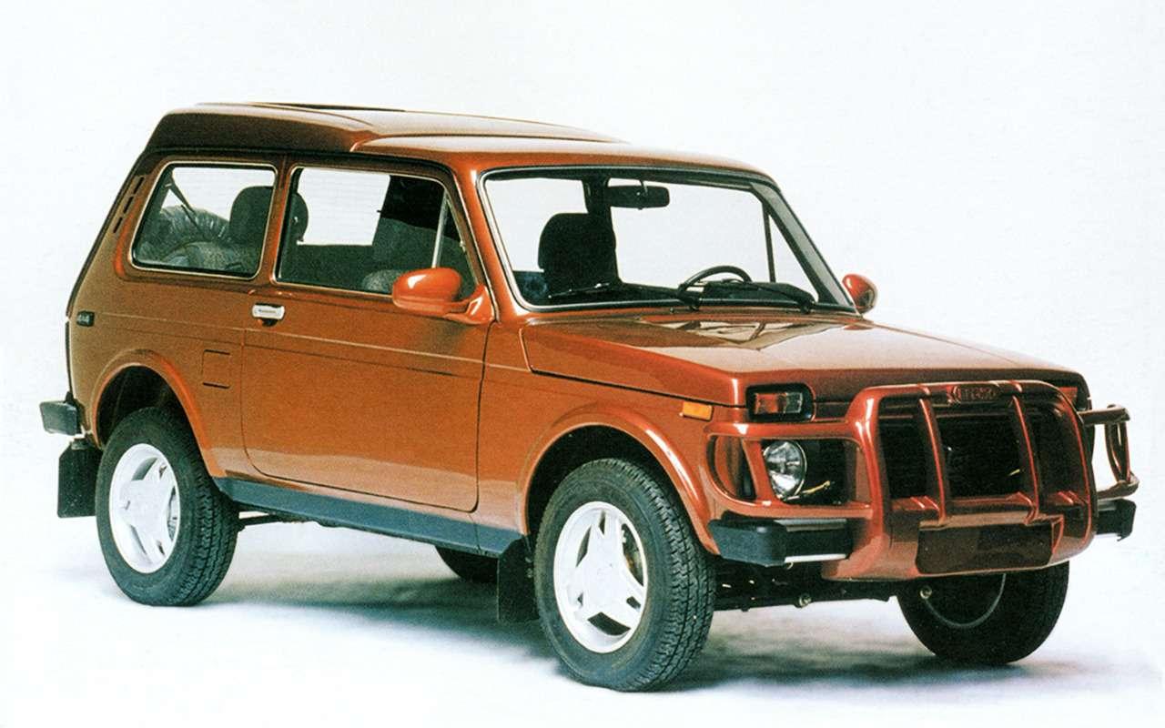 Lada 4x4: лучшее, что сней произошло за42года— фото 961014