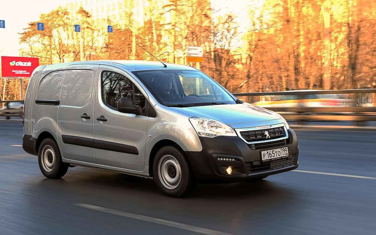 Peugeot Partner изКалуги: рассмотрели совсех сторон!— фото 1231038