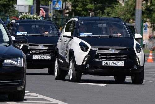 Действующий прототип ёмобиля выехал наулицы Санкт-Петербурга