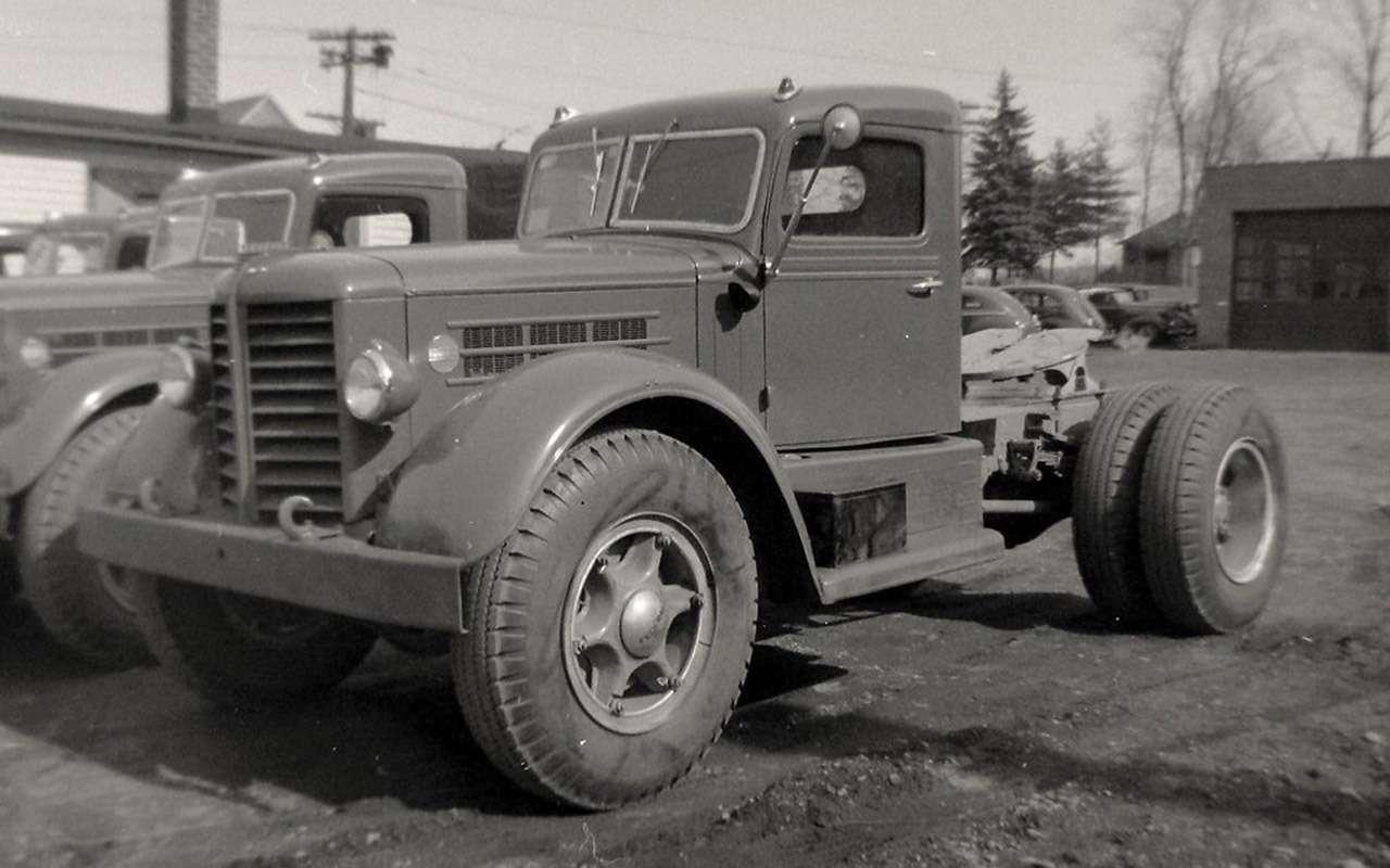 Первый советский дизельный грузовик ЯАЗ-200— родом изАмерики— фото 1255798