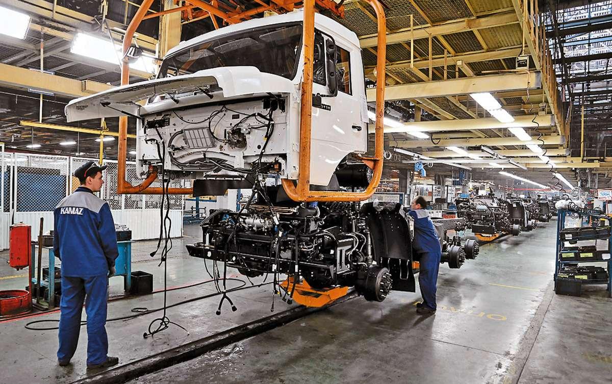 КАМАЗ нового поколения: почти все импортное— фото 1162249