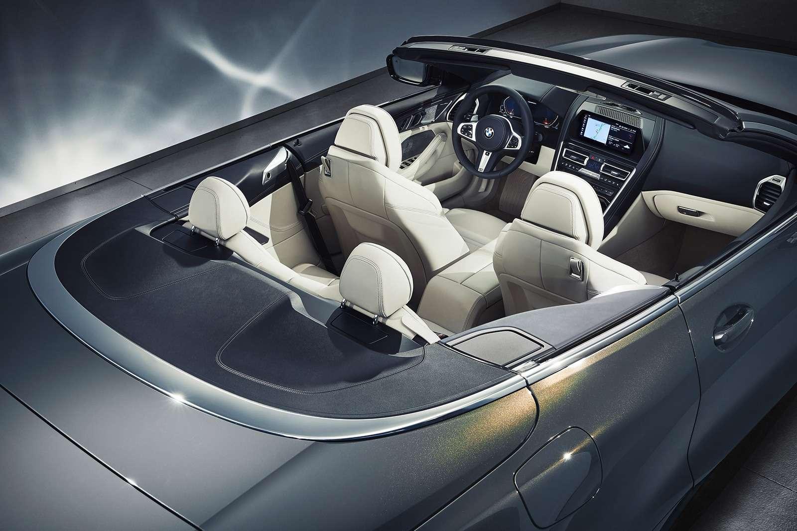 Кабриолет 8-й серии BMW: роскошь, открытая всем ветрам— фото 919733