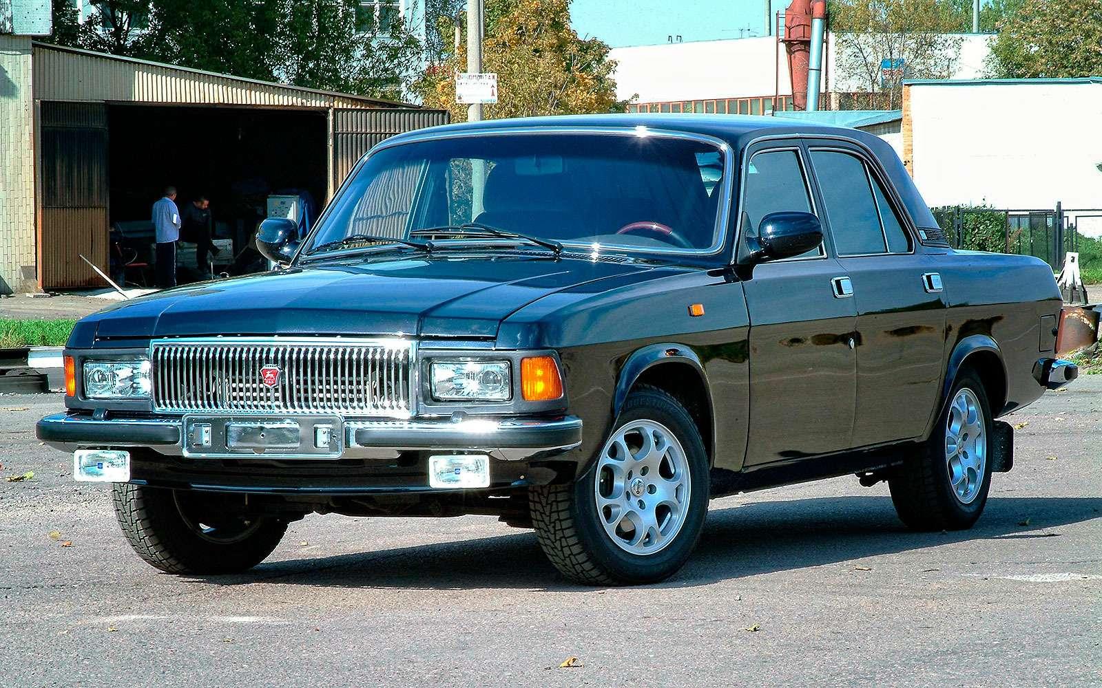 ГАЗ-3102, линзованные фары