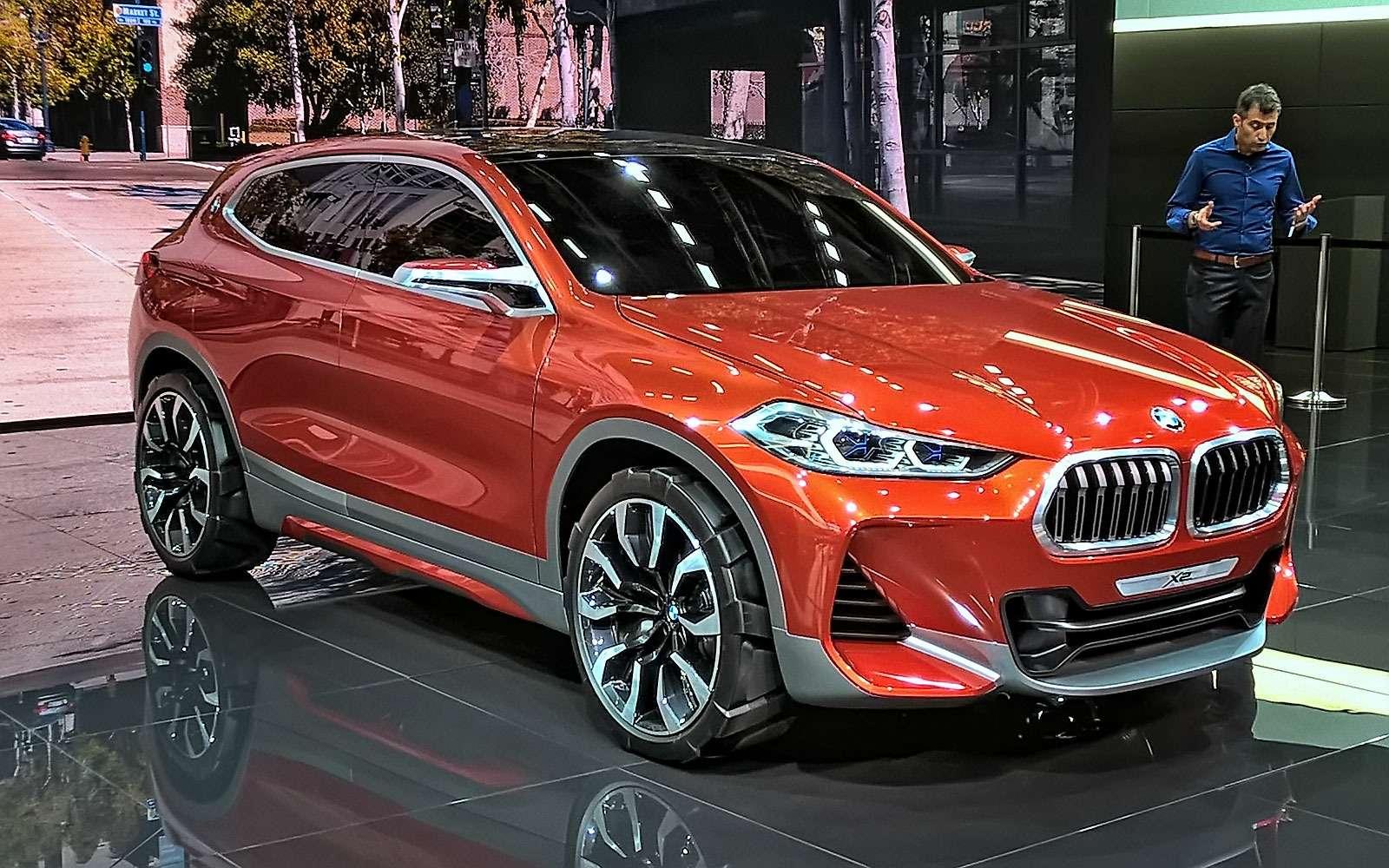 «Два икса»: BMW представила очередной нишевый паркетник— фото 641906