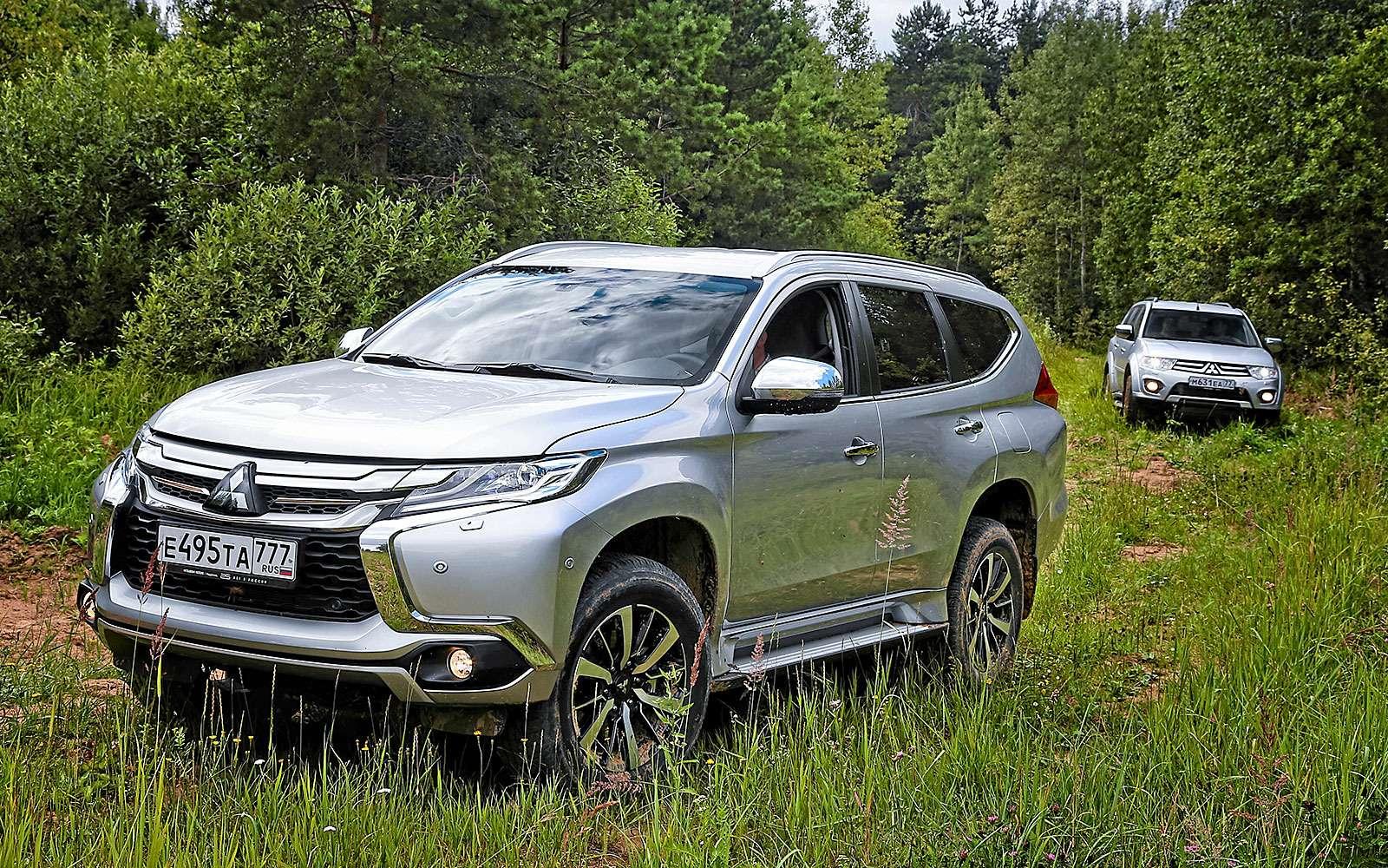 Новый Mitsubishi Pajero Sport против старого: другая лига— фото 626566