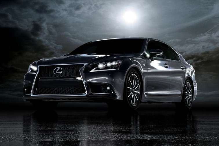 Lexus LSside-front view