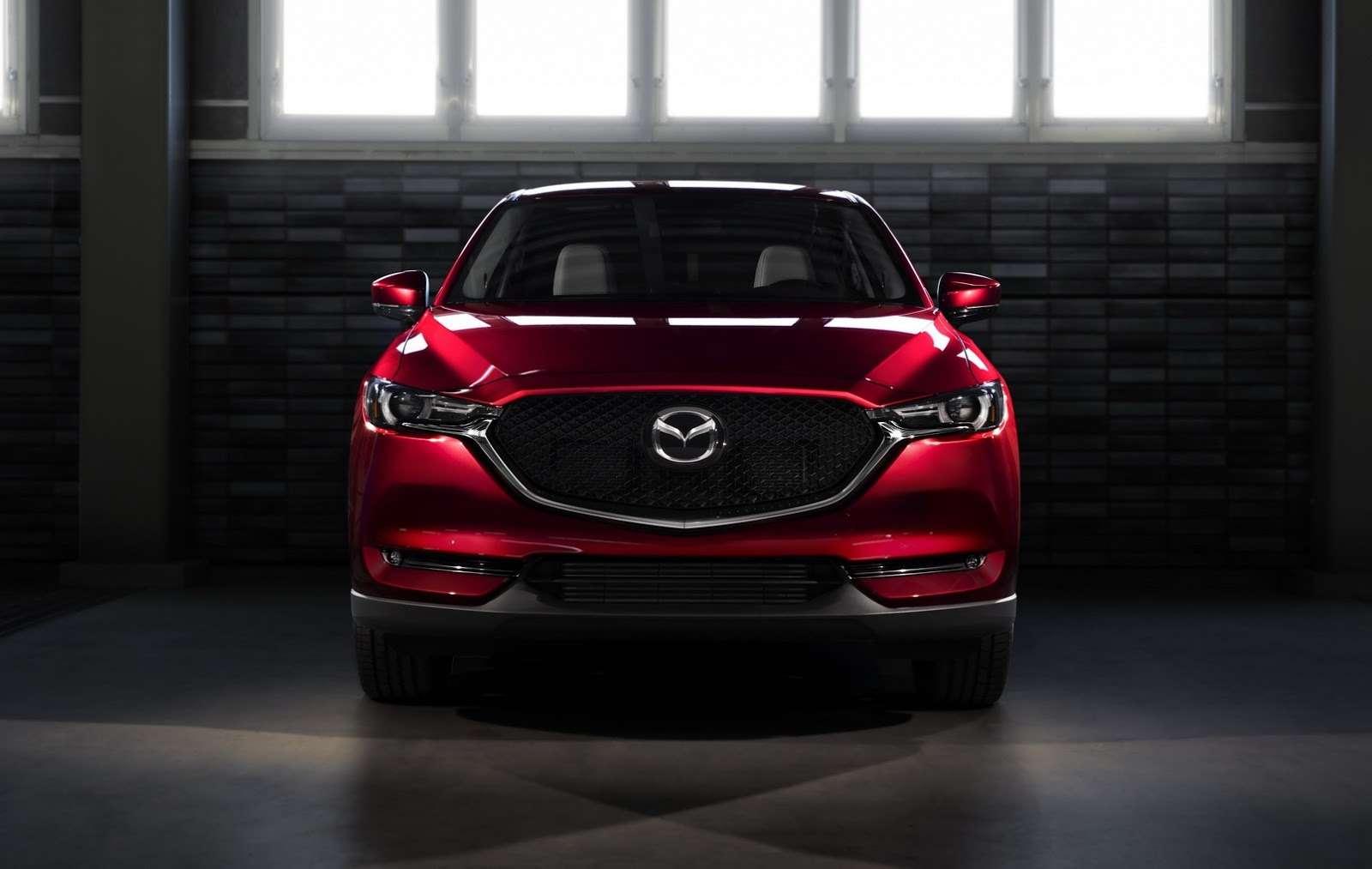 Глубокий блеск: Mazda представила новый кроссовер CX-5— фото 664421