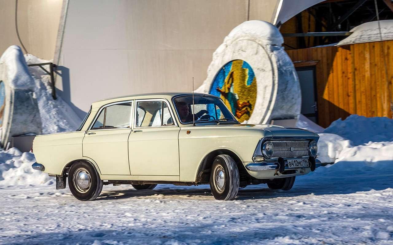 Советские автомобили против иномарок— супертест кюбилею— фото 858352