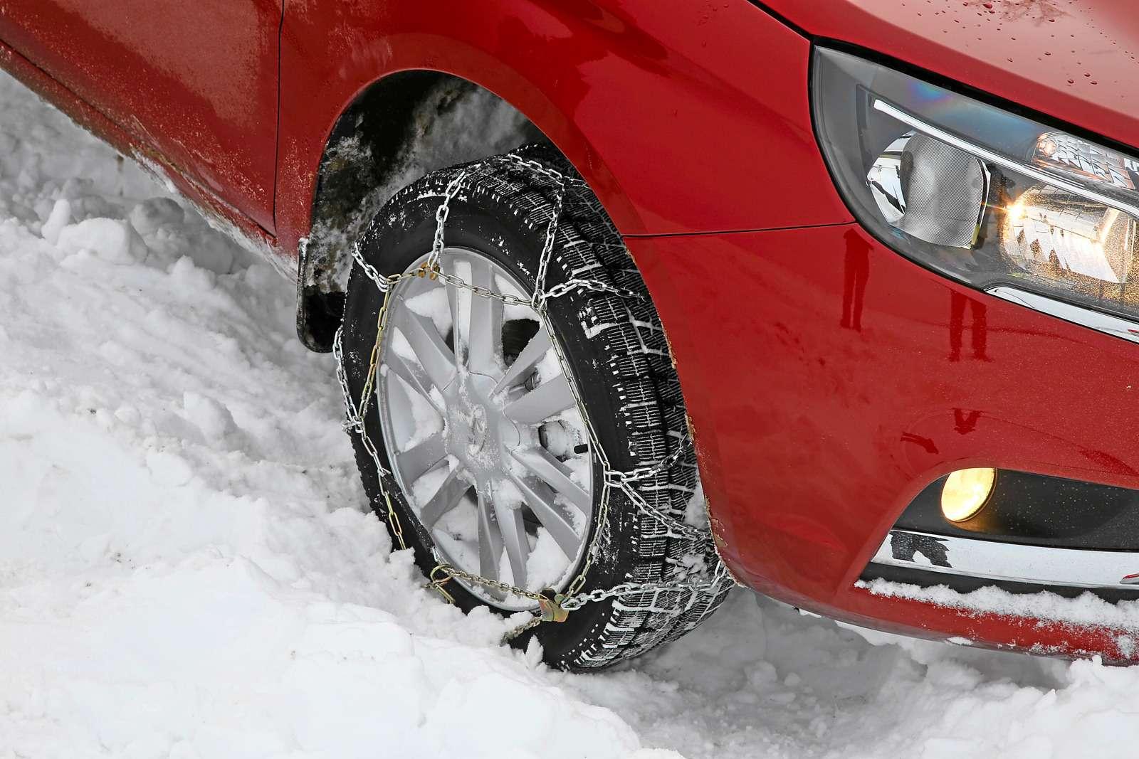Большой зимний тест: Lada Vesta, Lada XRAY иDatsun mi-DO изпарка ЗР— фото 571445