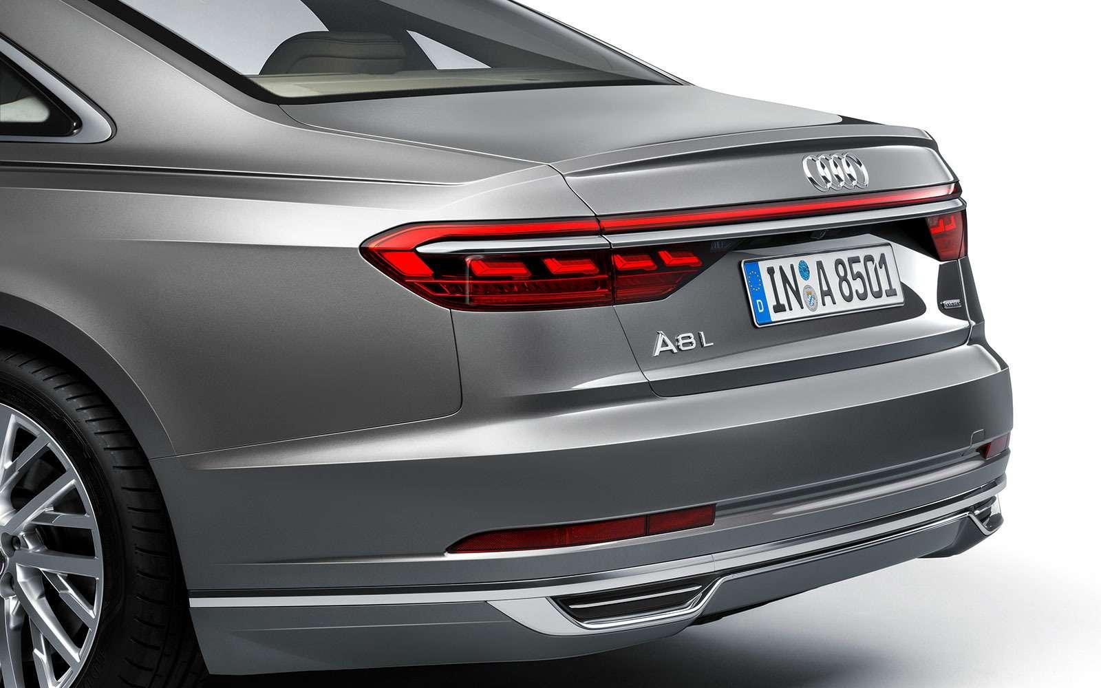 Audi A8четвертого поколения— новичок в«большой тройке»— фото 774430