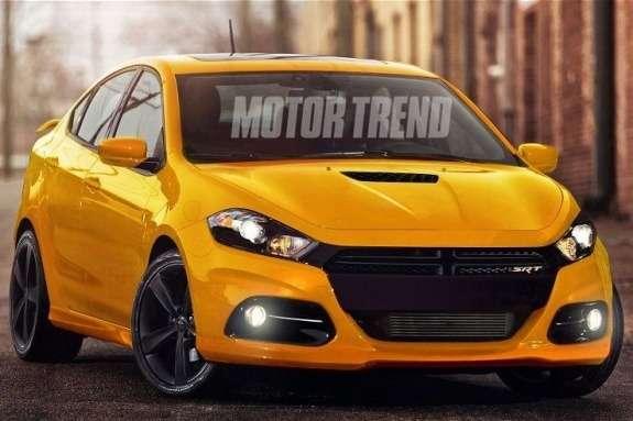 Dodge Dart SRT-4 rendering side-front view