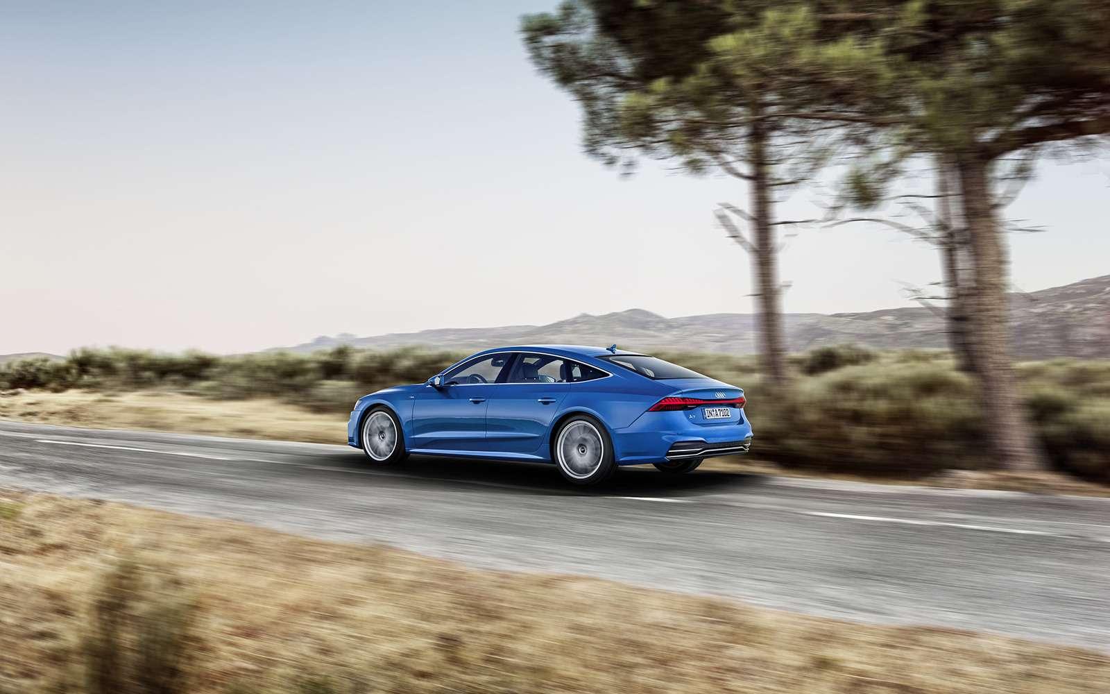 Новая Audi A7Sportback— вся насенсорах— фото 807140