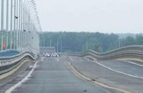 """""""Пляшущий мост"""" в Волгограде"""