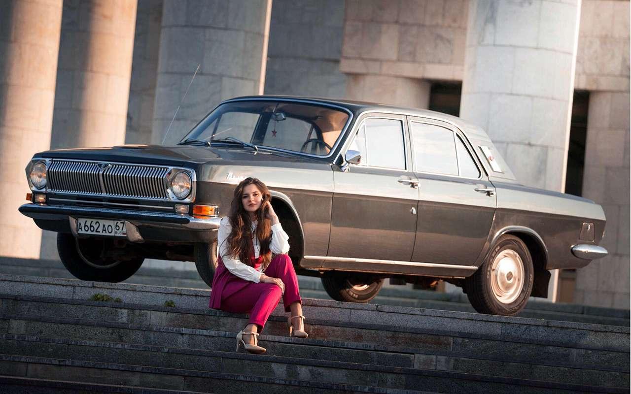 Ретротест символа 70-х: ГАЗ-24 Волга первой серии!— фото 999726