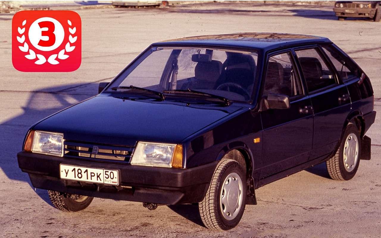 Самые продаваемые автомобили вистории нашей страны— фото 825701