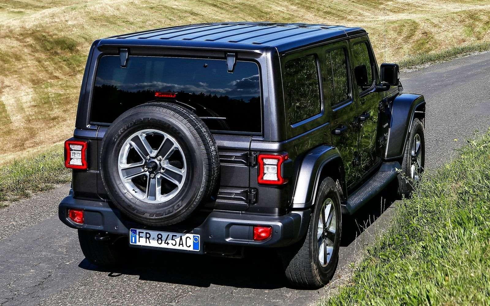 Новый Jeep Wrangler вРоссии: цены икомплектации— фото 896596