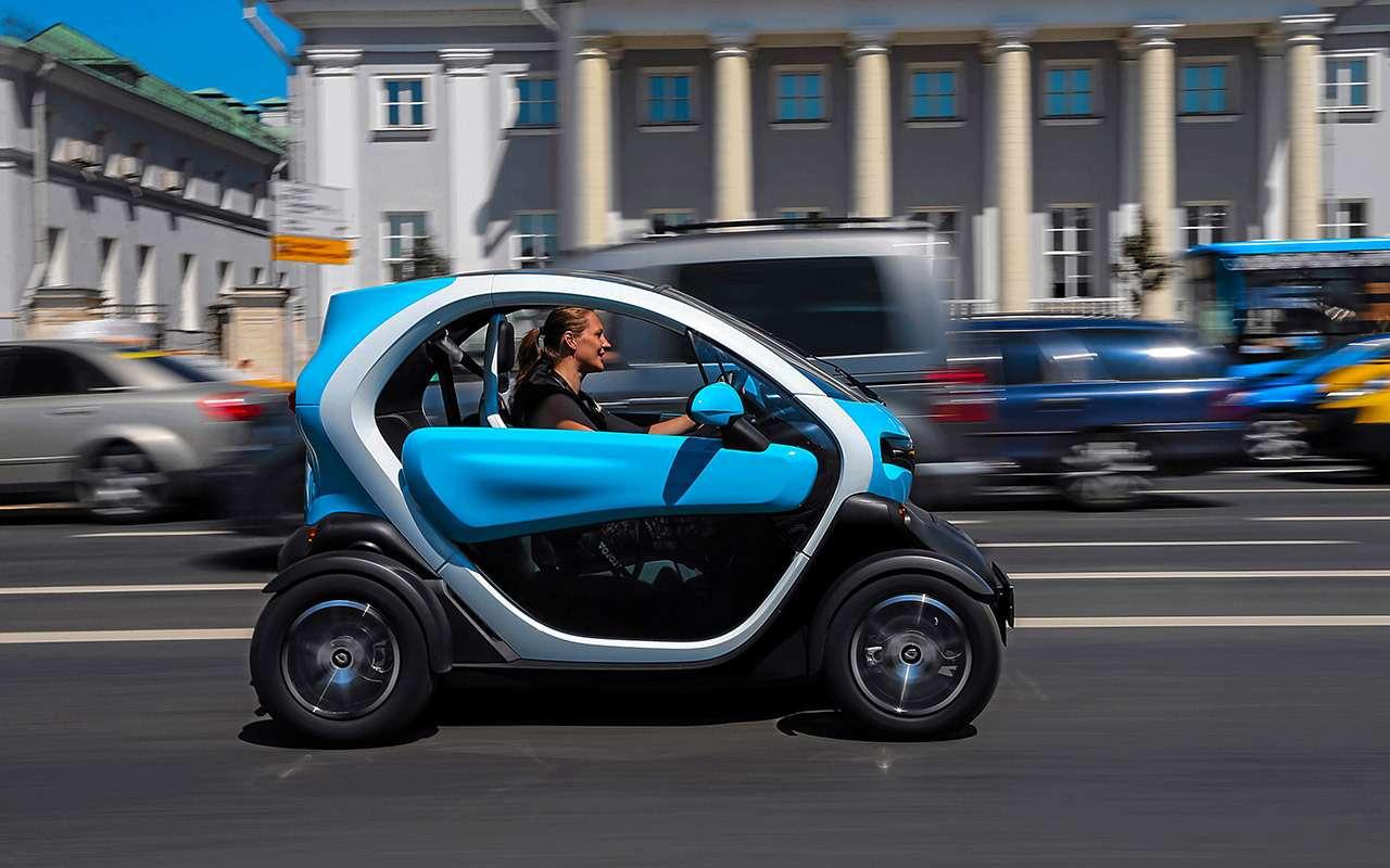 Самый странный автомобиль вРоссии: дачно-городской тест Renault Twizy— фото 983555