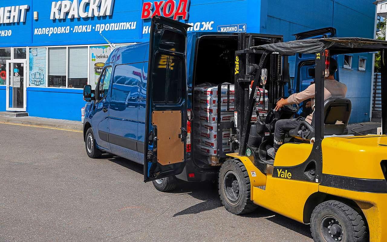 Обновленный Renault Master - тест для бизнесменов - фото 1164065