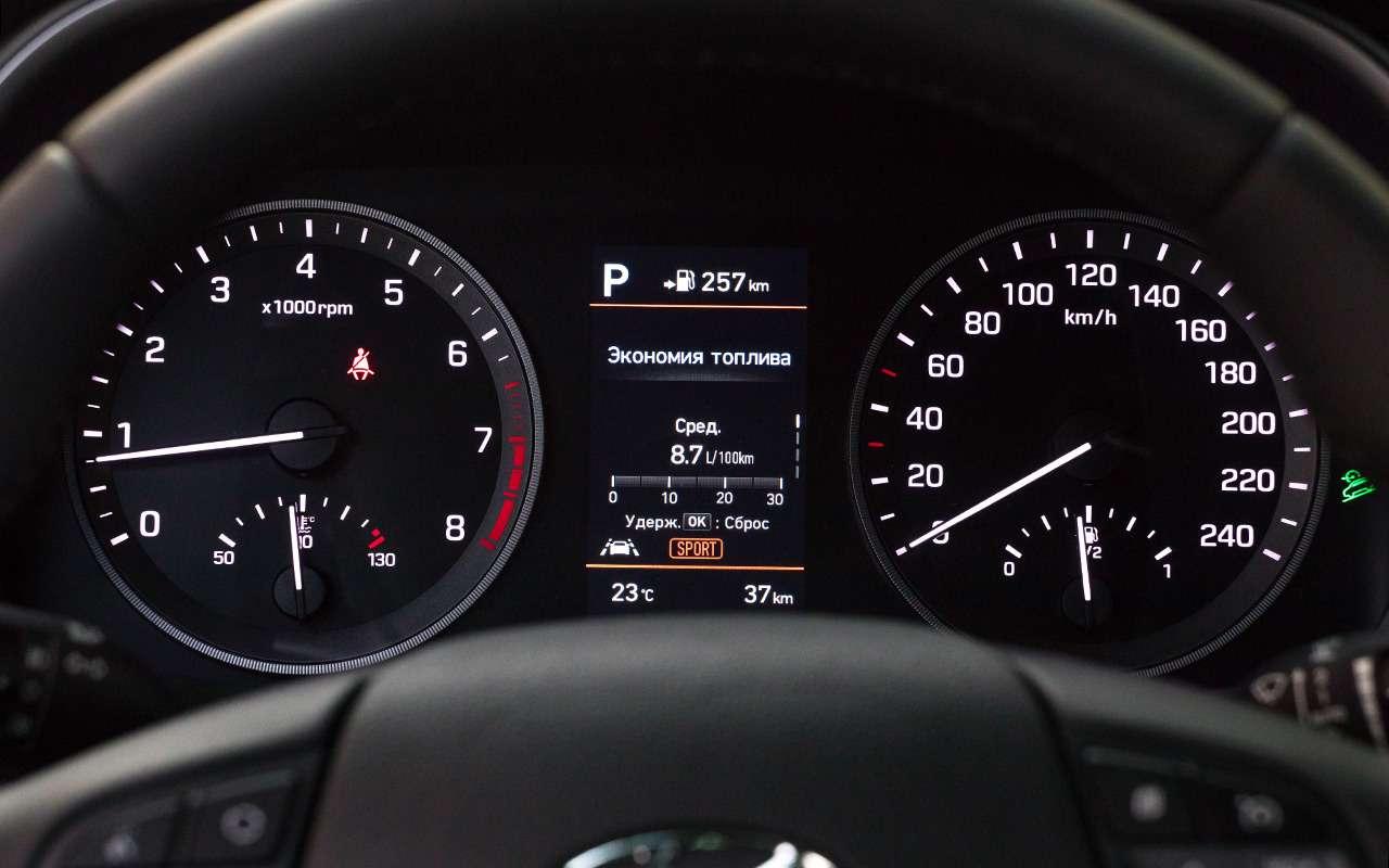 Hyundai Tucson сновым автоматом (восьмиступенчатым!)— фото 898347