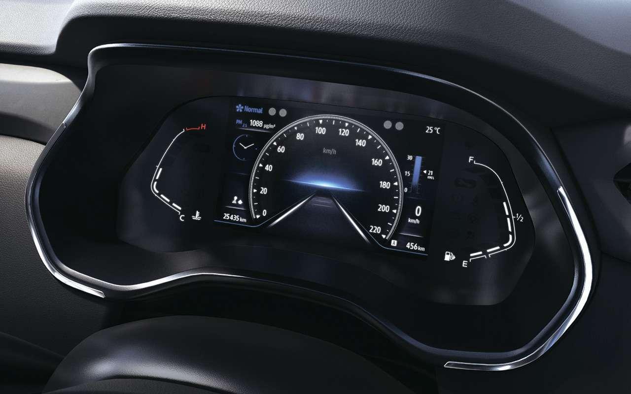 Renault показала маленький кроссовер Kiger— фото 1219550