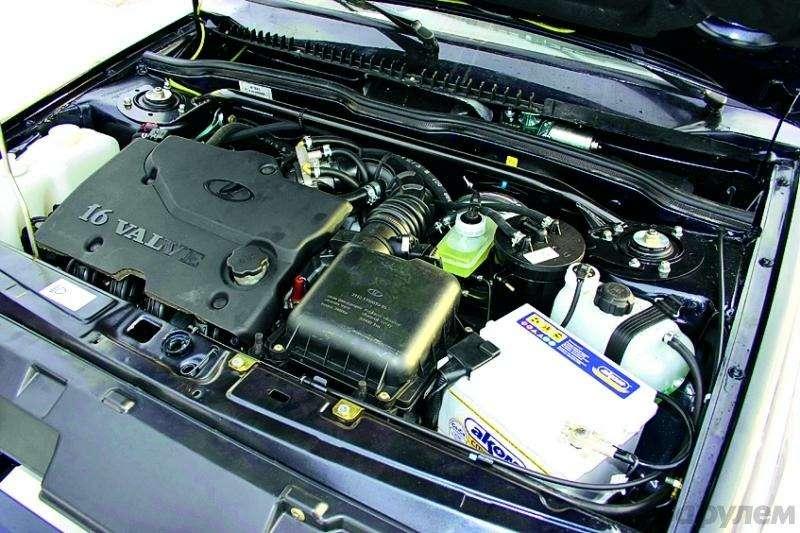 Полукровка: Samara сдвигателем Priora— фото 92899