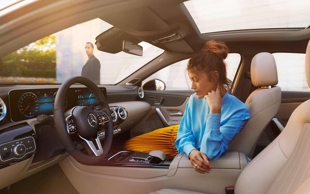 Дамский угодник: женский взгляд нановый Mercedes-Benz А200— фото 994972