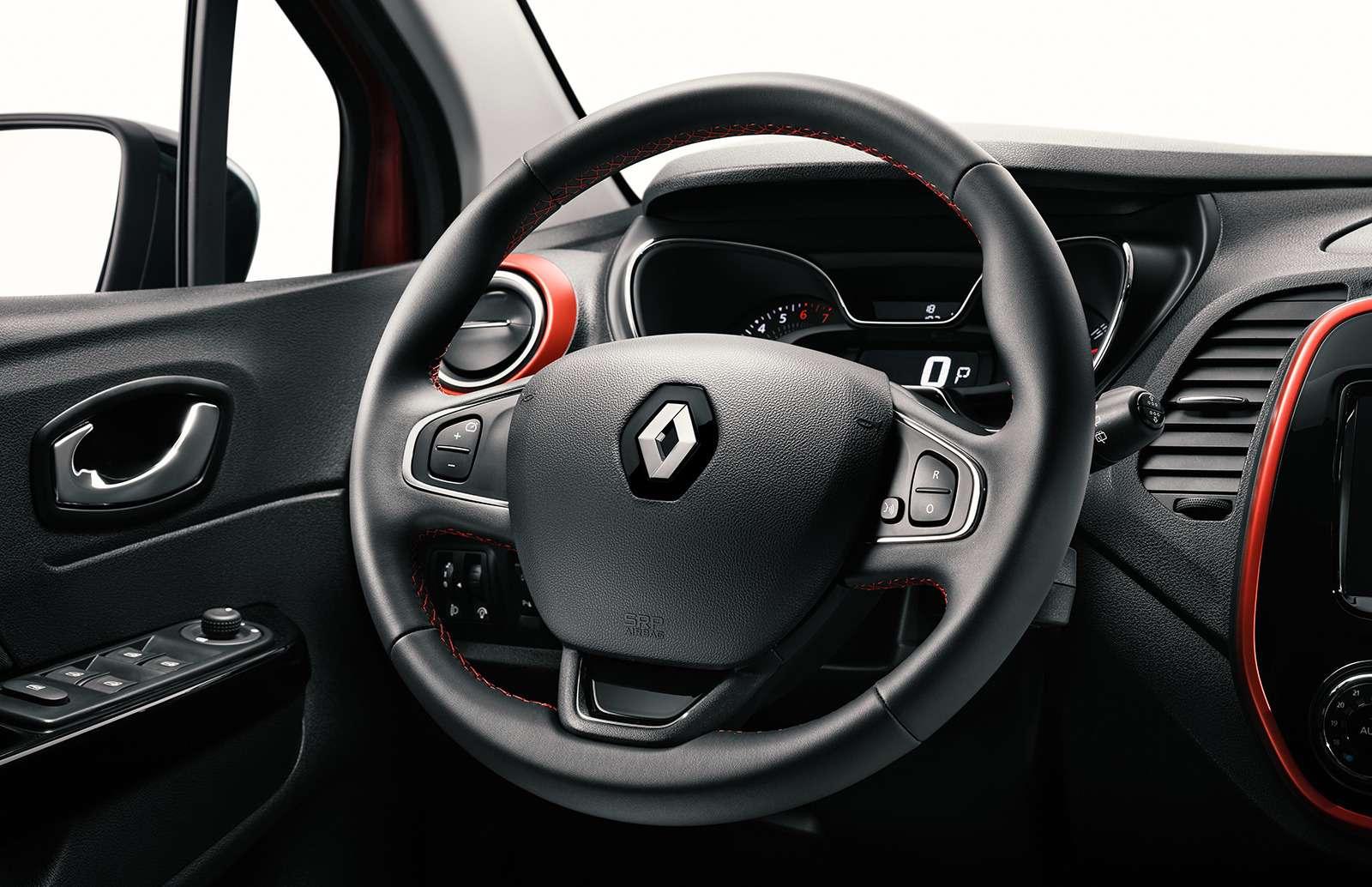 Renault Kaptur получил новую версию. Теперь сЯндекс.Авто иоплаченным интернетом— фото 887455
