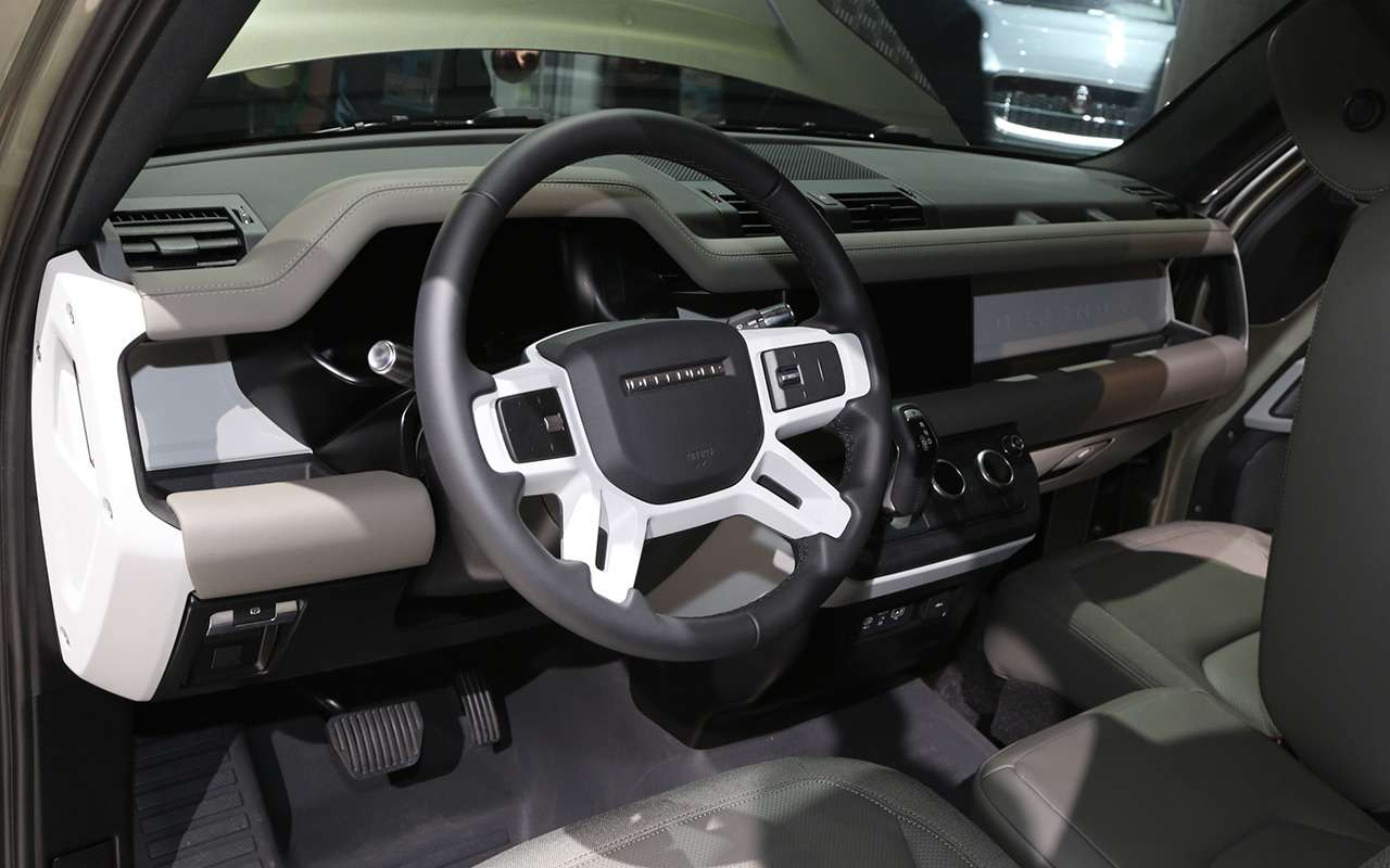 Новый Land Rover Defender иего 170 аксессуаров— фото 995357