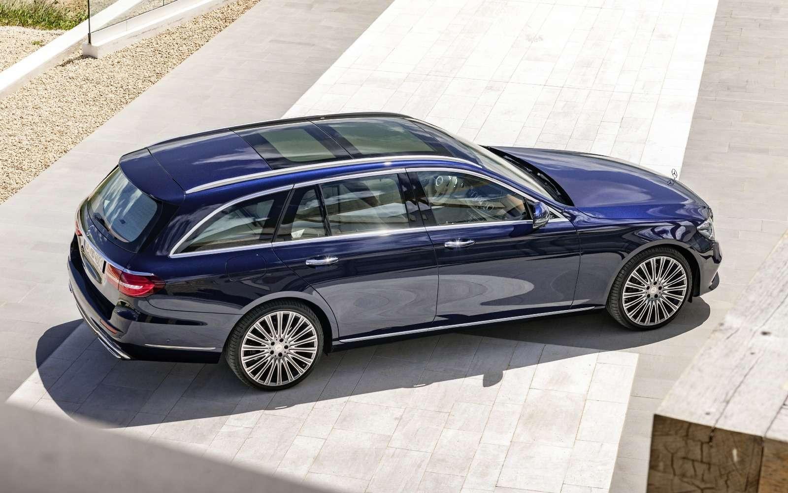 Новый универсал Mercedes-Benz Е-класса: шестой, юбилейный— фото 595679