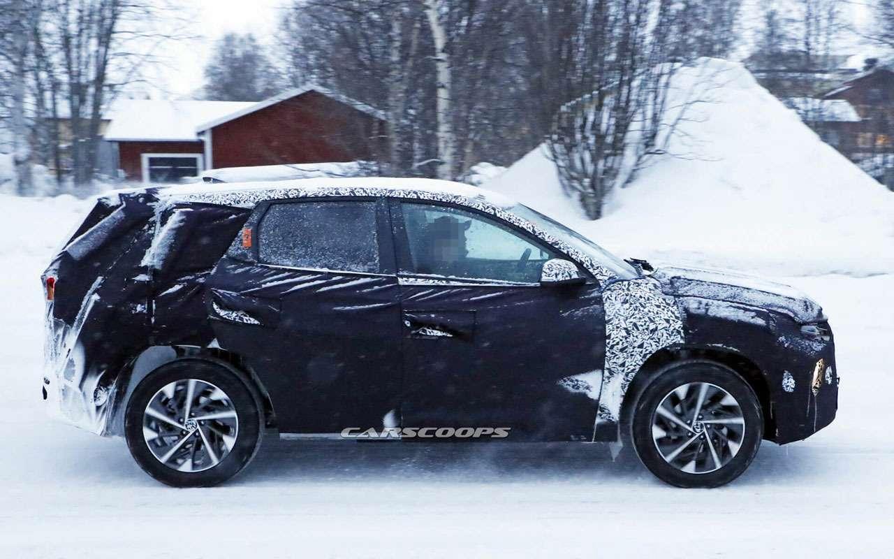 Новый Hyundai Tucson: заканчиваются испытания— фото 1058668
