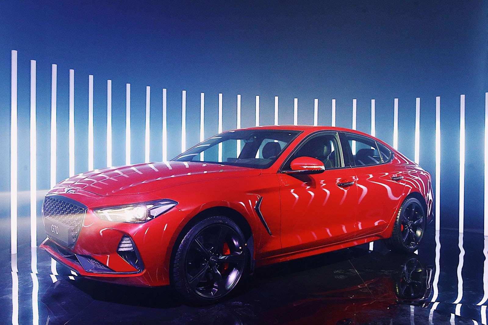 Корейский соперник «трешки» BMW вРоссии оказался дешевле конкурентов— фото 862169