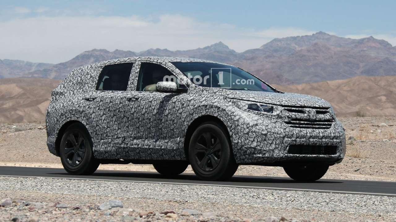 Назаре стиля: новая Honda CR-V срывает покров тайны— фото 609874