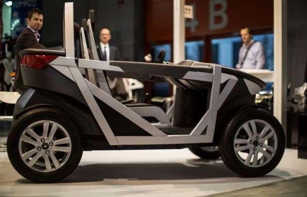 Итальянский проект Urban Tabby позволит каждому собрать автомобиль за40минут