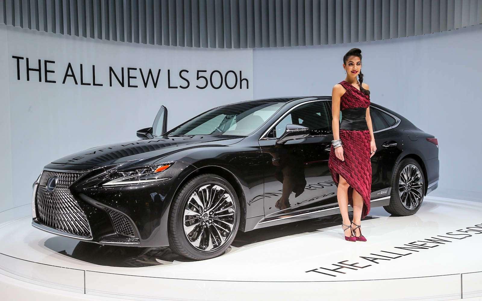 Новый Lexus LSпредстал вЖеневе вгибридном исполнении 500h— фото 718383