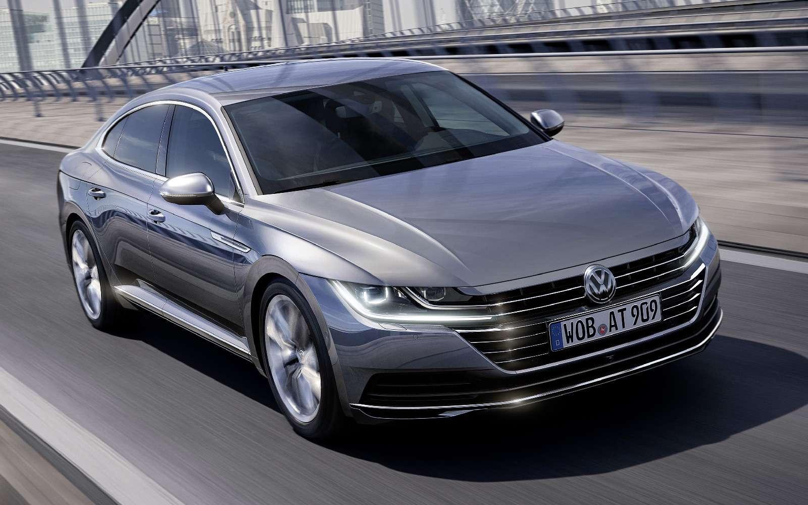 Volkswagen Arteon: это вам неЦе-Це!— фото 717152