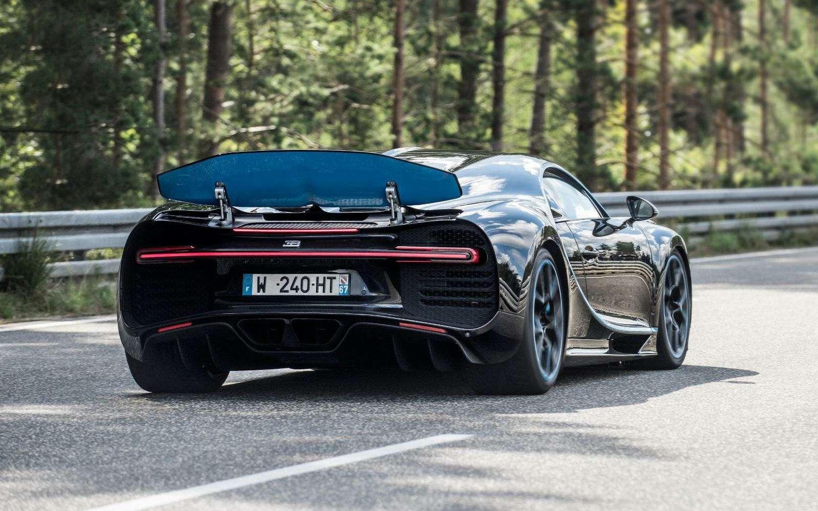 0-400-0 км/ч— видео рекордного заезда Bugatti Chiron— фото 794899