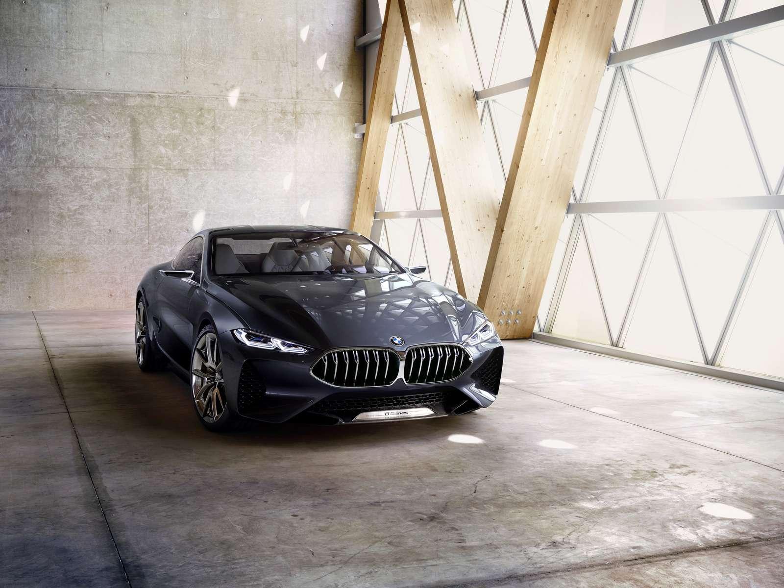 Великолепная «восьмерка»: новое купе BMW— теперь скристаллами!— фото 756647