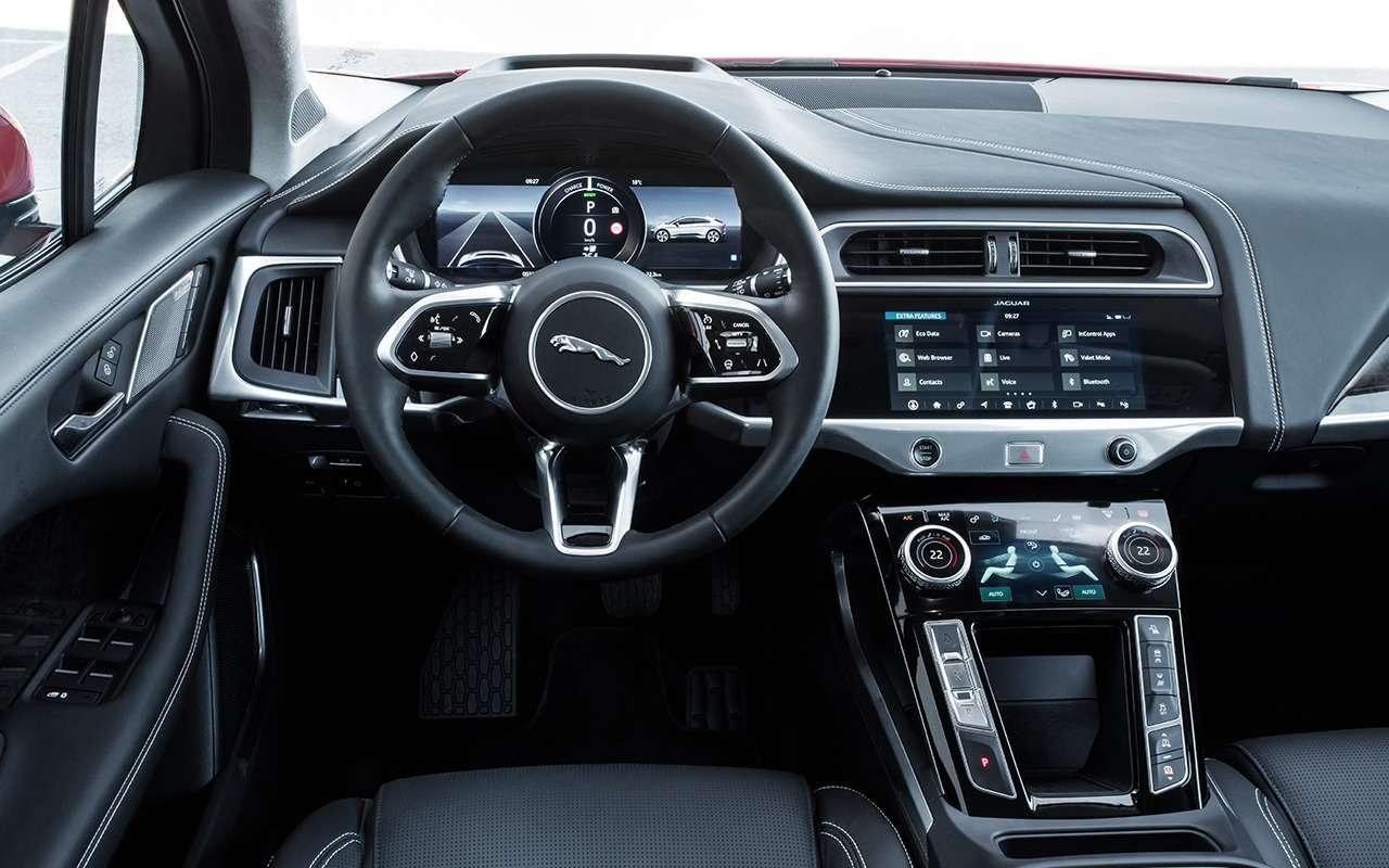 Jaguar I-Pace: никакого топлива, только электричество!— фото 876975