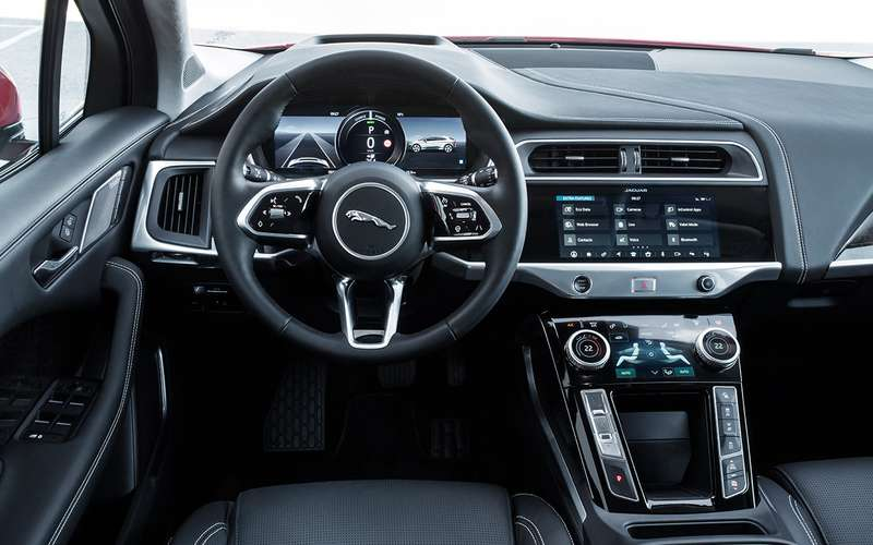 Jaguar I-Pace: никакого топлива, только электричество!