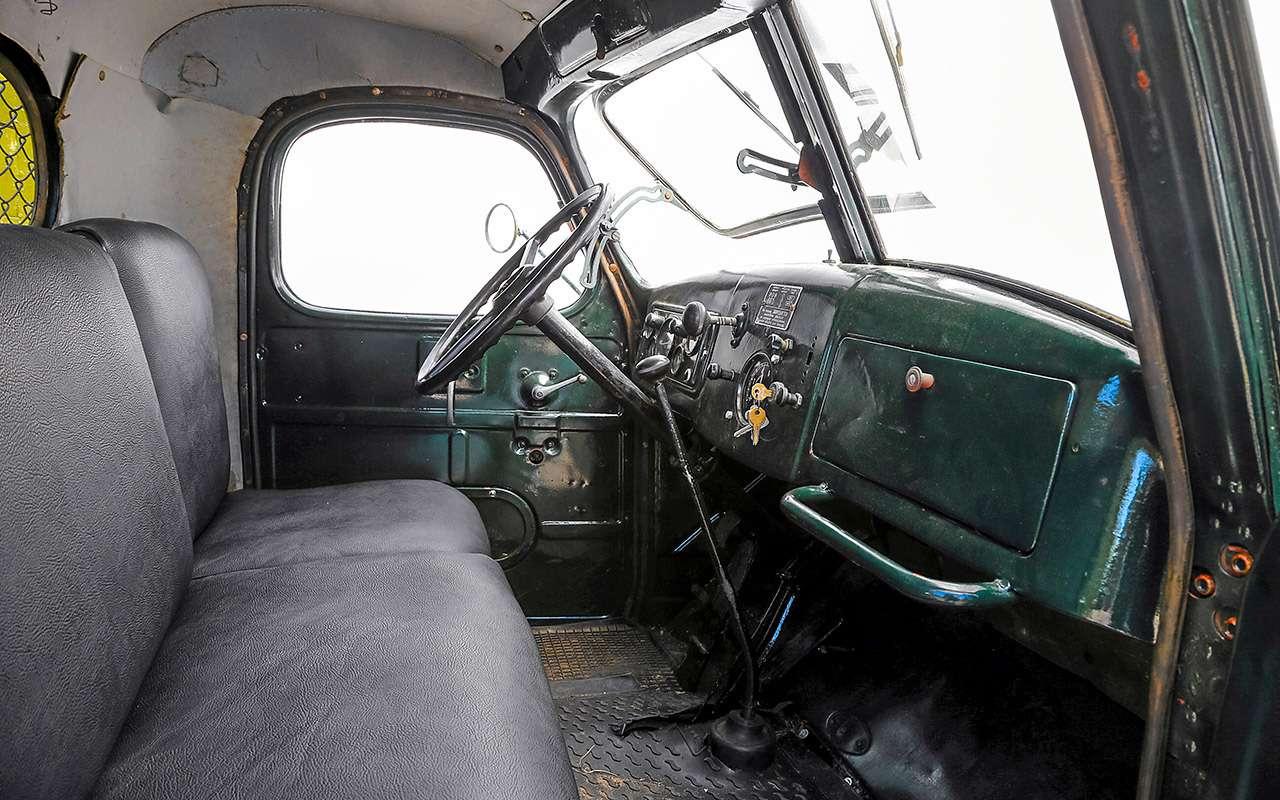 Заслуженный грузовик СССР— ретротест ЗИС-150— фото 1150092