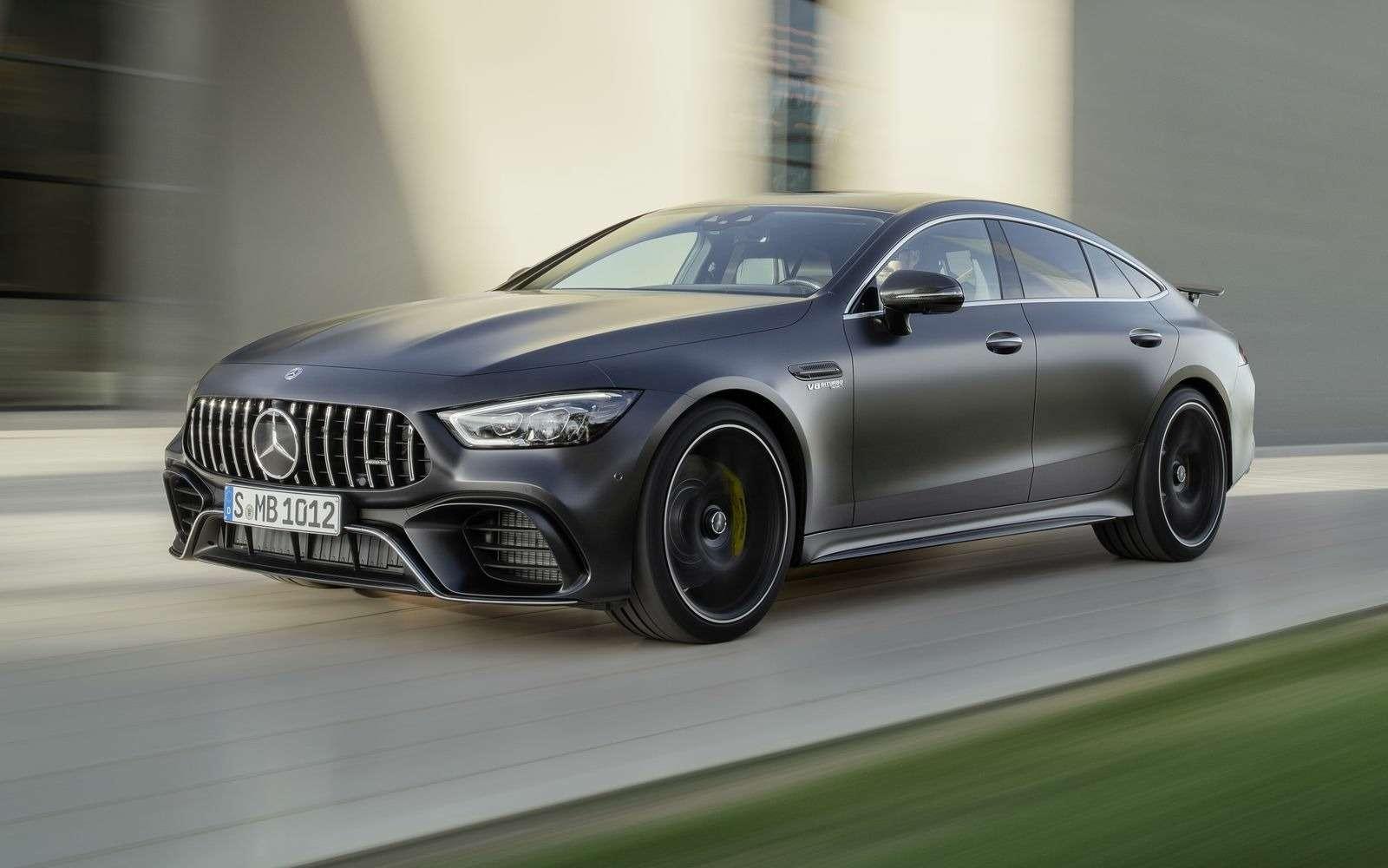Подмена! Пятидверный Mercedes-AMG GTполучил «тележку» Е-класса— фото 851529