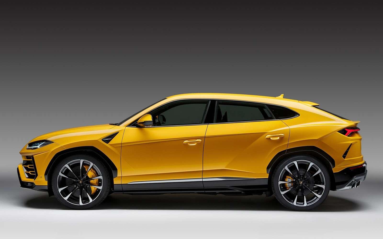 Lamborghini Urus: самый крутой кроссовер вмире— фото 823176