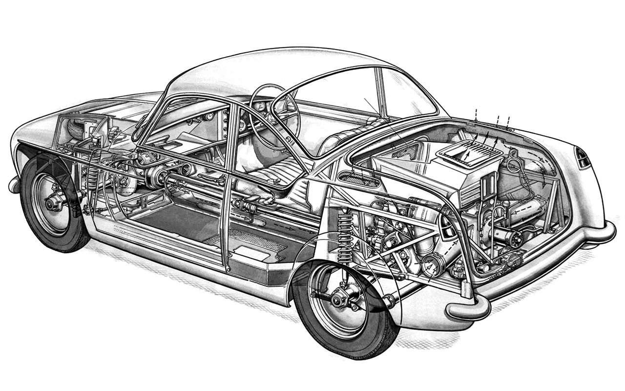 Автомобили савиационными двигателями— советские ине только— фото 912929