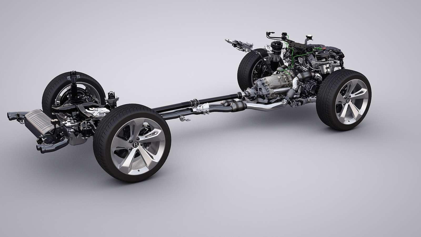Bentley Bentayga Diesel: 4,8до сотни— самая медленная версия!— фото 884143